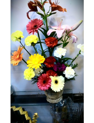 Flower basket for Anniversary