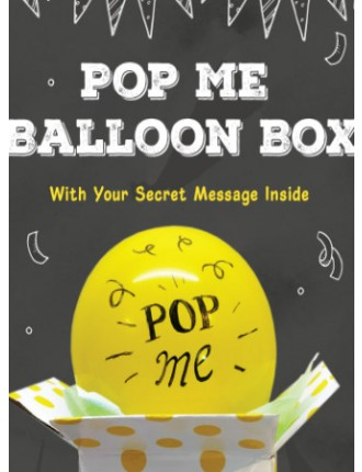 POP ME Balloon box