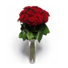 15 stems of red roses