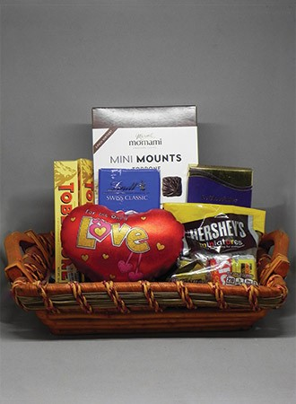 Imported chocolates hamper