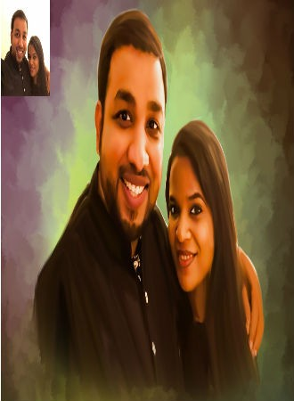 Digital Portraits for Couples