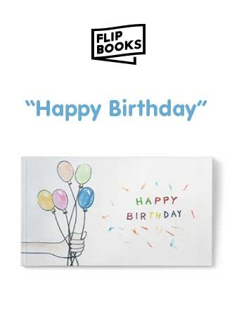 Happy Birthday Balloons - Flipbook