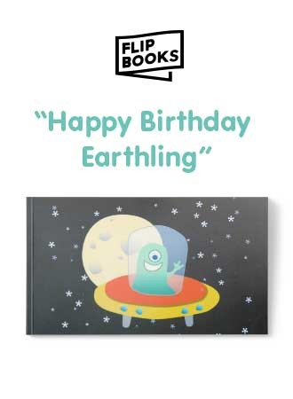 Happy Birthday Earthling - Flipbook