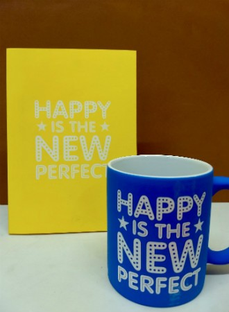 Happy is the new perfect  + pad