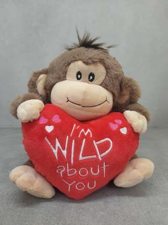 I am wild - Monkey Soft toy
