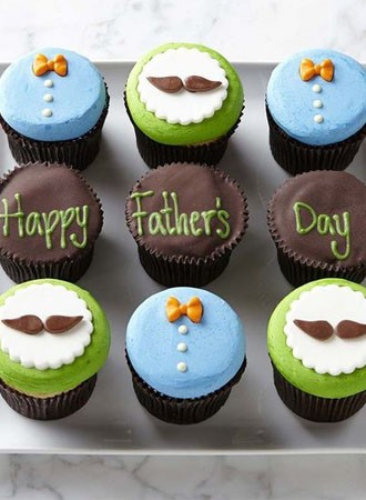 Wish your DAD Cupcakes